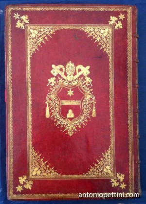 06 Papal Bindings Clemens XI Missale Ambrosianum nouissime Ioseph cardinalis Archinti archiepiscopi auctoritate recognitum